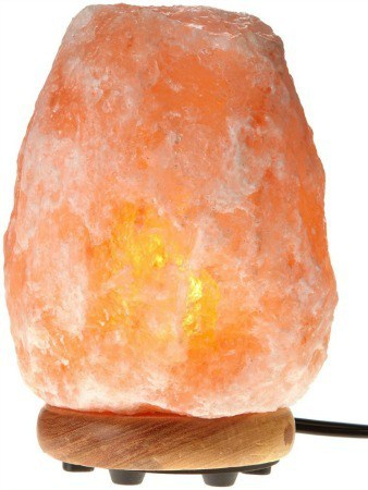 Hemingweigh Himalayan Glow Hand Carved Natural Crystal Himalayan Salt Lamp