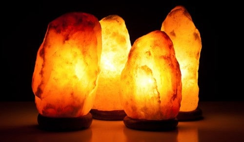 Himalayan Salt Lamps.